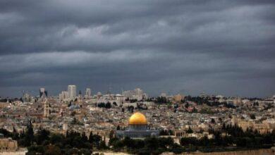الحالة الجوية في فلسطين