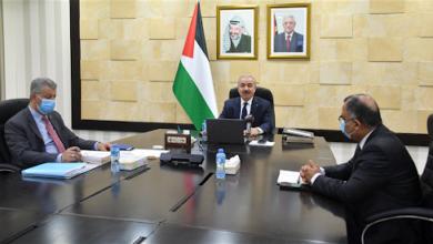 جلسة مجلس الوزراء الفلسطيني اليوم الاثنين