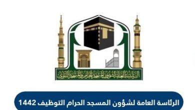 الرئاسة العامة لشؤون المسجد