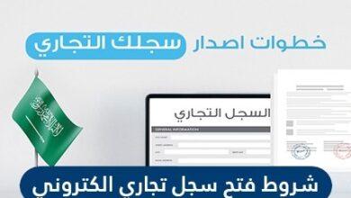 شروط فتح سجل تجاري الكتروني في السعودية 2021
