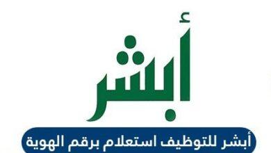 ابشر التوظيف استعلام برقم الهوية الوطنية عن القبول المبدئي للوظيفة في السعودية