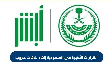 القرارات الاخيرة في السعودية