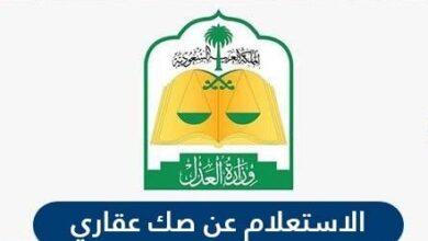 الاستعلام عن الصك العقاري ناجز وكذلك وزارة العدل السعودية