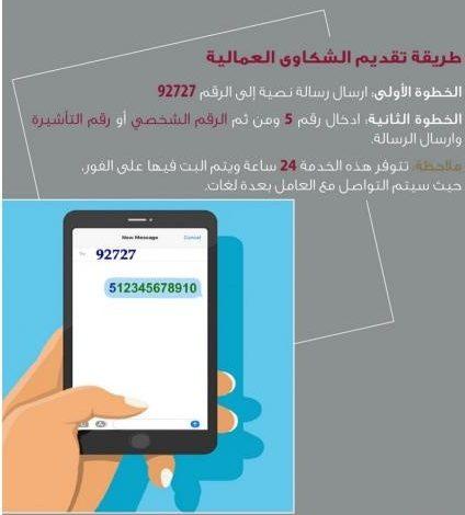 تقديم شكوى عمالية عبر بوابة حكومي في قطر
